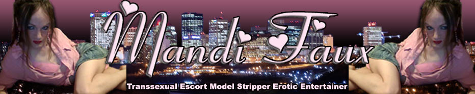 TS Mandi Faux Premiere Transsexual Escort Model Stripper Entertainer